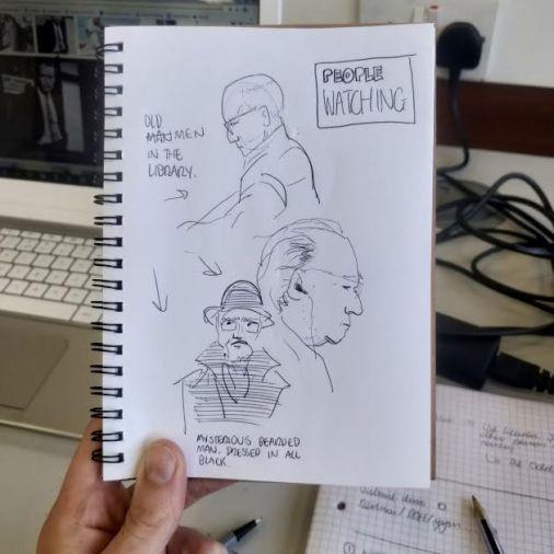 Joe Drawing 1