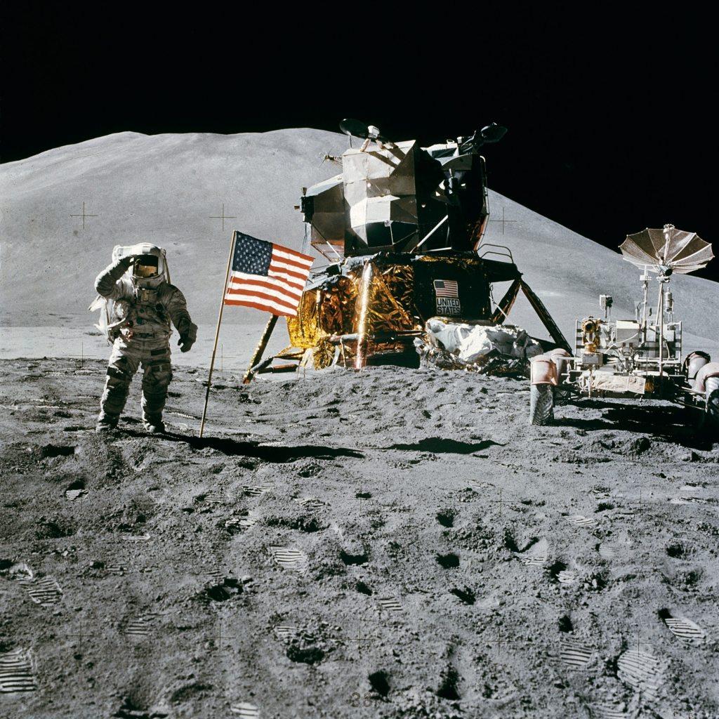 american-flag-astronaut-astronomy-39896